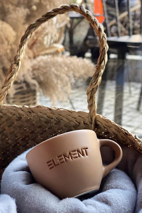 Double espresso cup